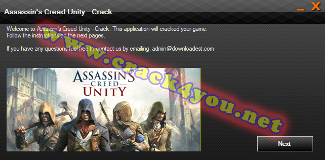 Assassin's Creed Unity Crack pc