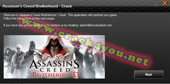 Assassin's Creed Brotherhood Crack pc