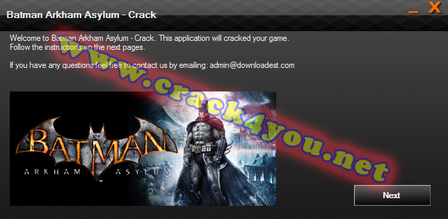 Batman Arkham Asylum Crack pc