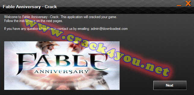Fable Anniversary - Crack 1