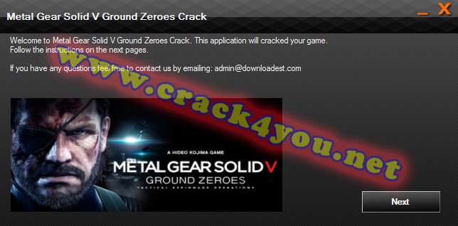 Metal Gear Solid V Ground Zeroes Crack 1