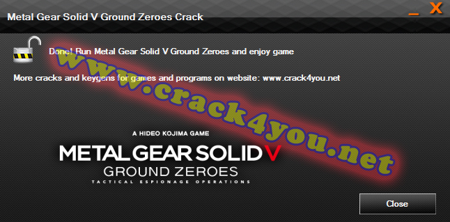 Metal Gear Solid V Ground Zeroes Crack 4