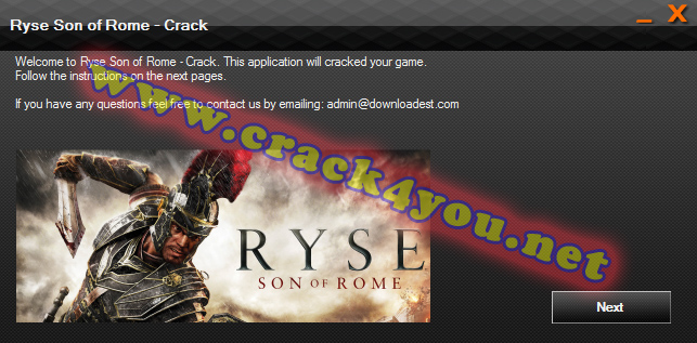 Ryse Son of Rome Crack pc