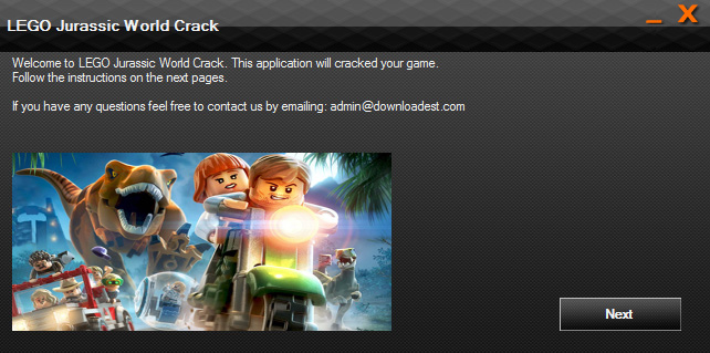 LEGO Jurassic World Crack 3dm
