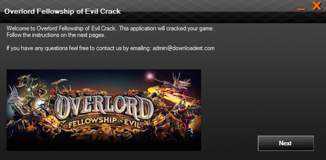 Overlord Fellowship of Evil crack