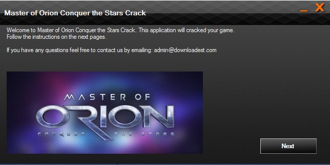Master of Orion Conquer the Stars crack