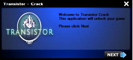 Transistor crack 1
