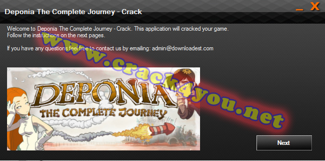 Deponia The Complete Journey - Crack 1
