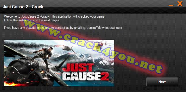 Just Cause 2 Crack pc