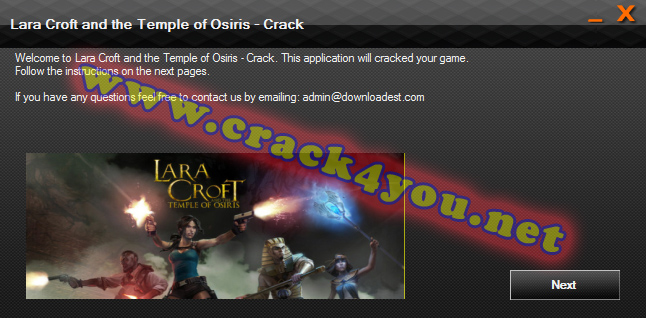 Lara Croft and the Temple of Osiris - Crack 1