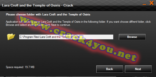 Lara Croft and the Temple of Osiris - Crack 2