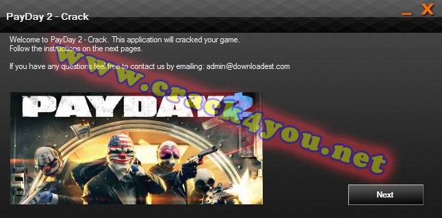 PayDay 2 Crack pc