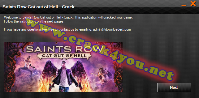 Saints Row Gat out of Hell Crack pc