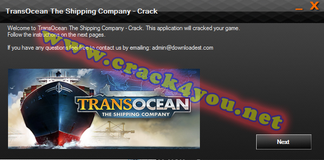 TransOcean The Shipping Company - Crack 1