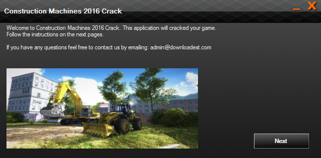 Construction Machines 2016 Crack pc