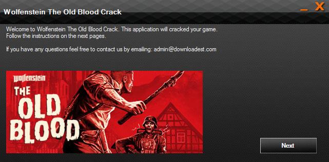 Wolfenstein The Old Blood Crack pc
