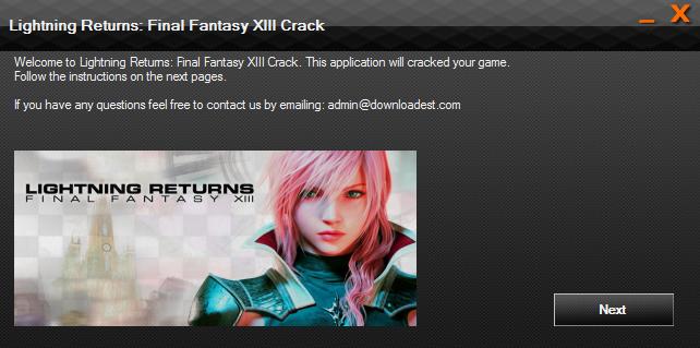 Lightning Returns Final Fantasy XIII crack