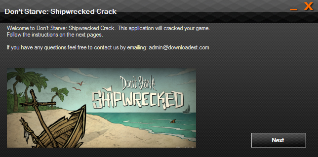 Don't Starve Shipwrecked crack