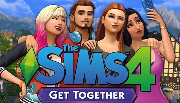 game The Sims 4 Spotkajmy się logo