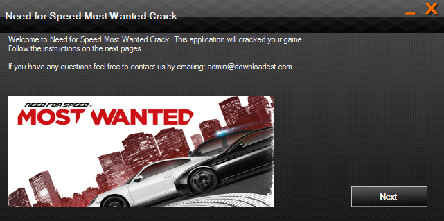 Need for Speed Most Wanted crack