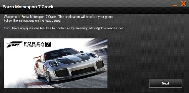 Forza Motorsport 7 Crack