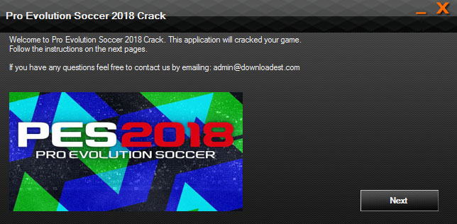 Pro Evolution Soccer 2018 Crack