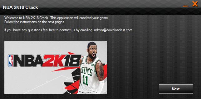 NBA 2K18 crack 3dm