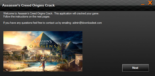 Assassin's Creed Origins crack